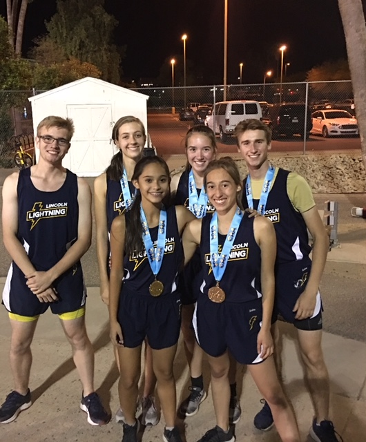 Multiple Medals for Lincoln – CAA Track & Field State Championships