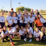 Girls Varsity Soccer Competes in State Tournament
