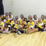 Jim Satterfield Middle School Girls Varsity Volleyball – MS beat Smith County 25-20