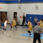 Jim Satterfield Middle School Girls Varsity Basketball – MS beat Carroll-Oakland 43-30