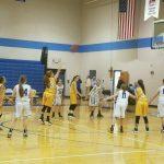 Jim Satterfield Middle School Girls Varsity Basketball – MS beat Gordonsville 51-11