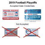 TCHS Football Playoffs: Round 1 Ticket Info
