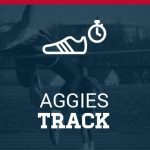 Four Aggies Advance to Track Section Championships