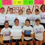 8th Grade Volleyball Wins CAA Championship