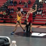 Wrestlers complete another sweep