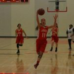 Girls Open Playoffs with 46-28 Win