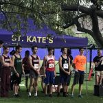 Saint Agnes High School Boys Varsity Cross Country finishes 9th place