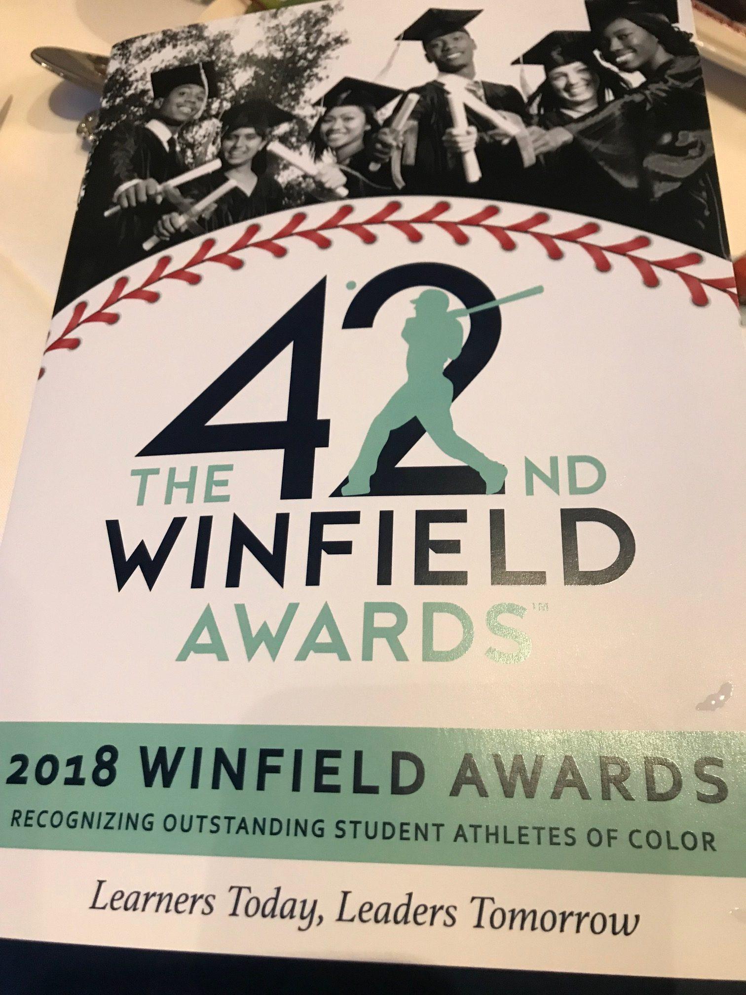 K'Lynn Lewis Named Winfield Award Winner
