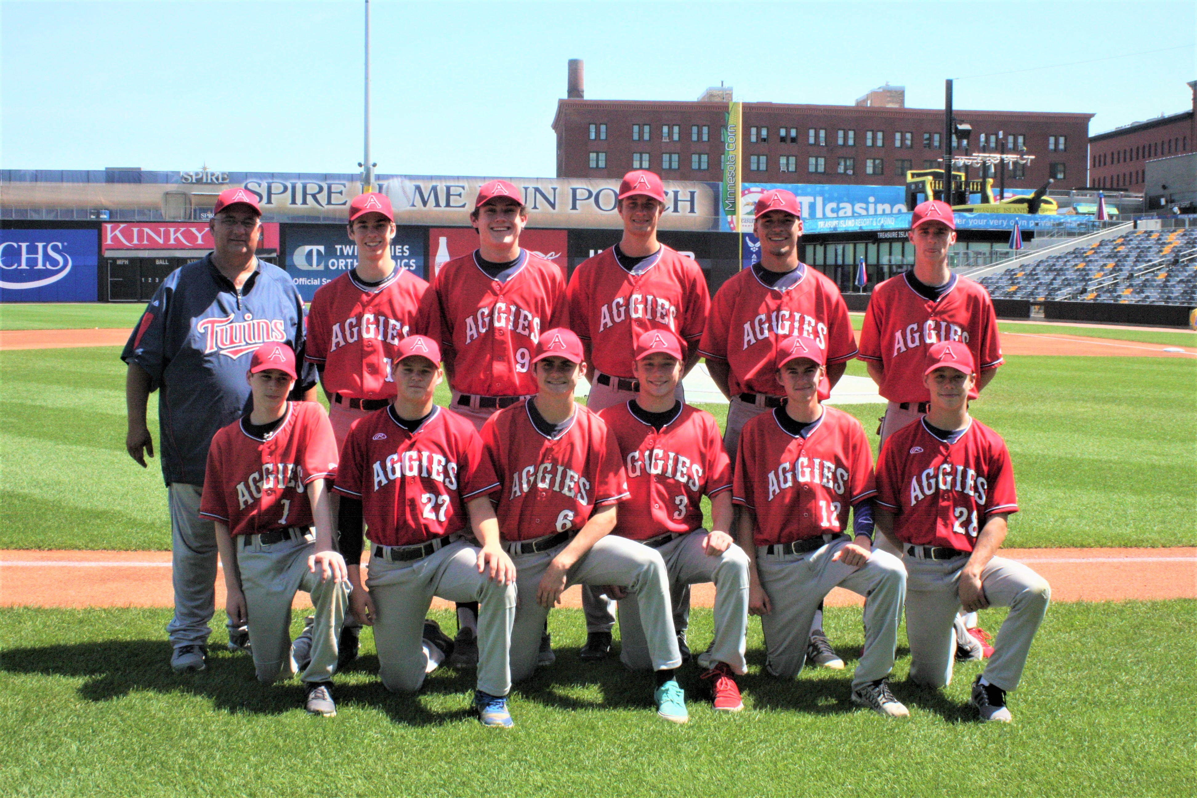 Aggie Legion Baseball Team Defeates Hamline Red 3-2 at CHS Field
