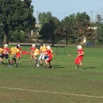 Junior High Football beats St. Paul Academy 12-8