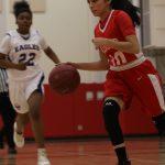 Girls Basketball beats No. St. Paul 41-21