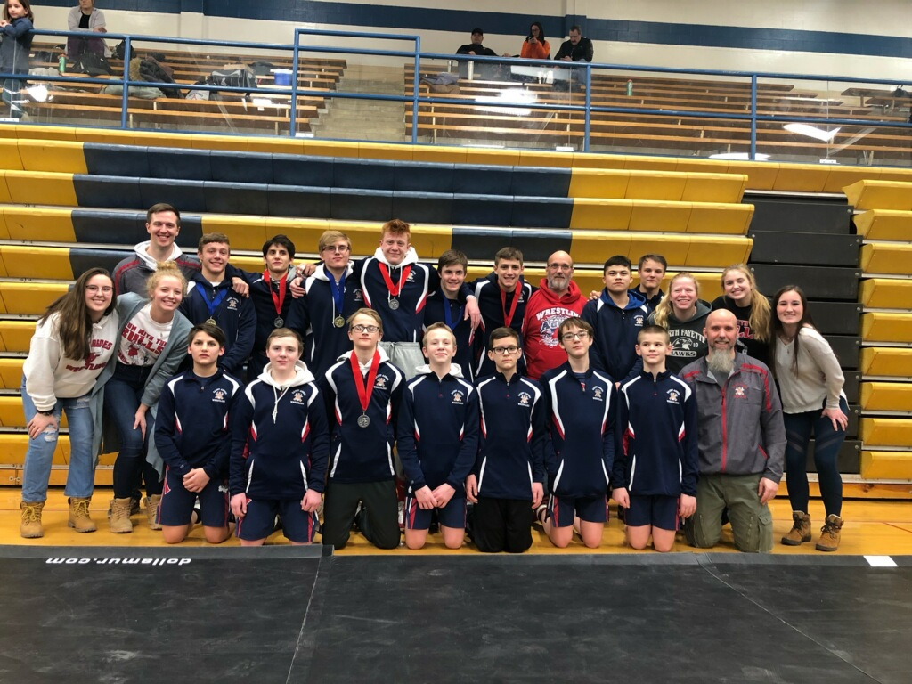 Wrestlers finish 2nd in Tri-Metro Conference Championships