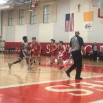 Boys Open Section Playoffs with 75-26 win