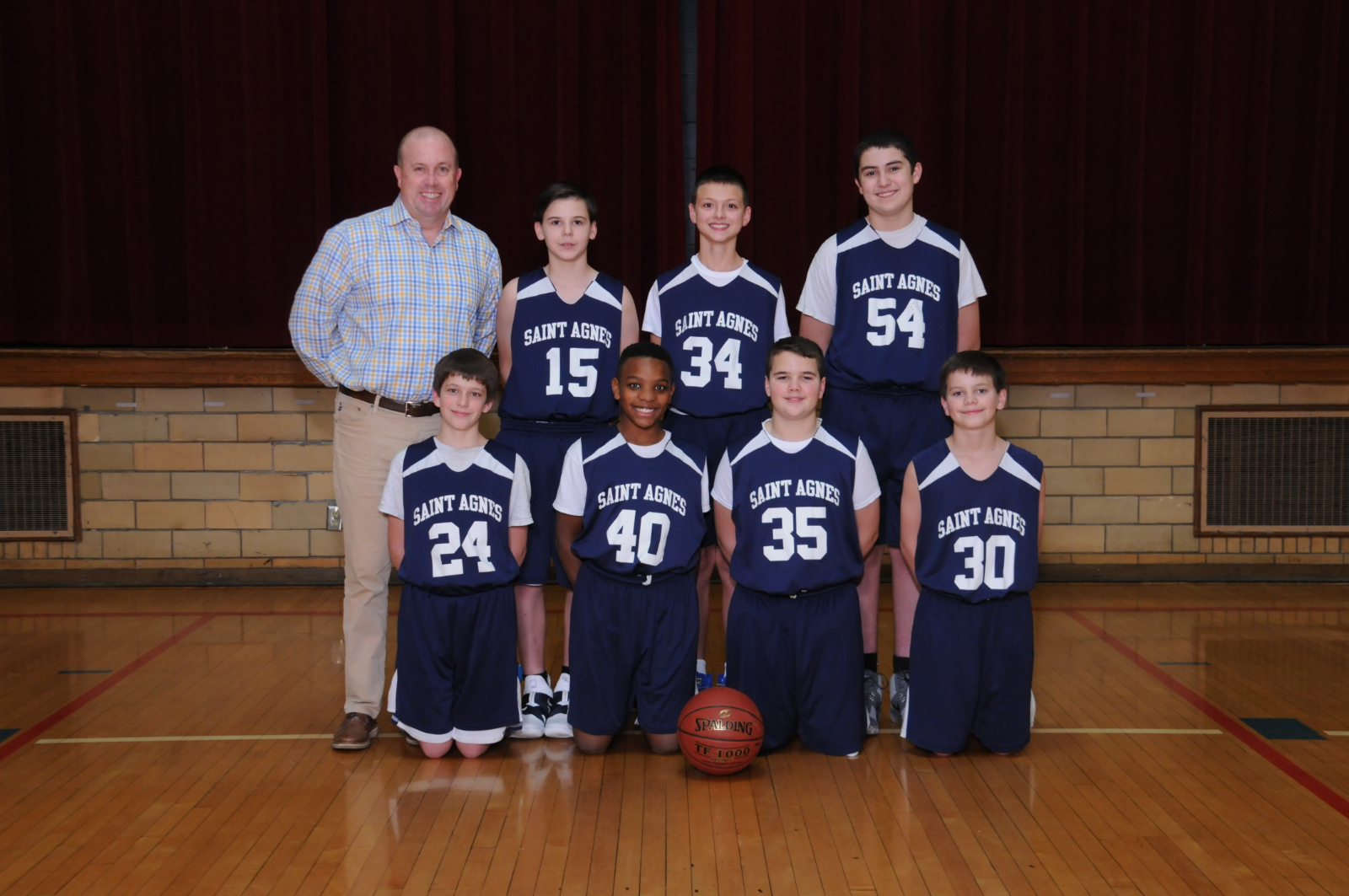 7th Grade Red Headed to CAA Championship