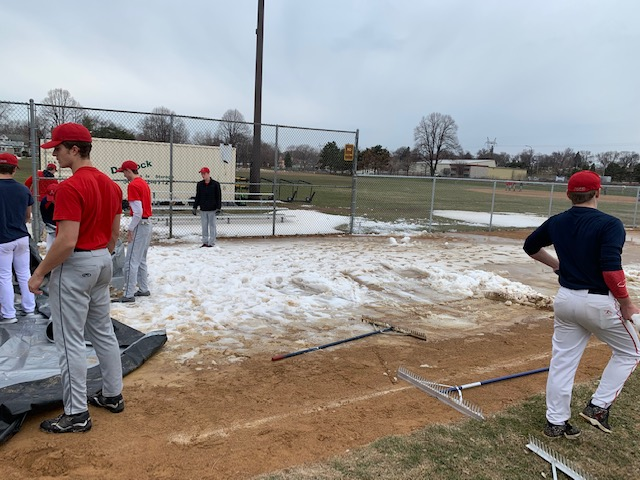 Sacrifice is more than a Bunt- Baseball Team readies West Mini for today's Game