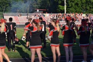 Fall Cheer 9/26/2016