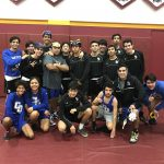 Charter Oak High School Boys Varsity Wrestling beat West Covina High School 48-36