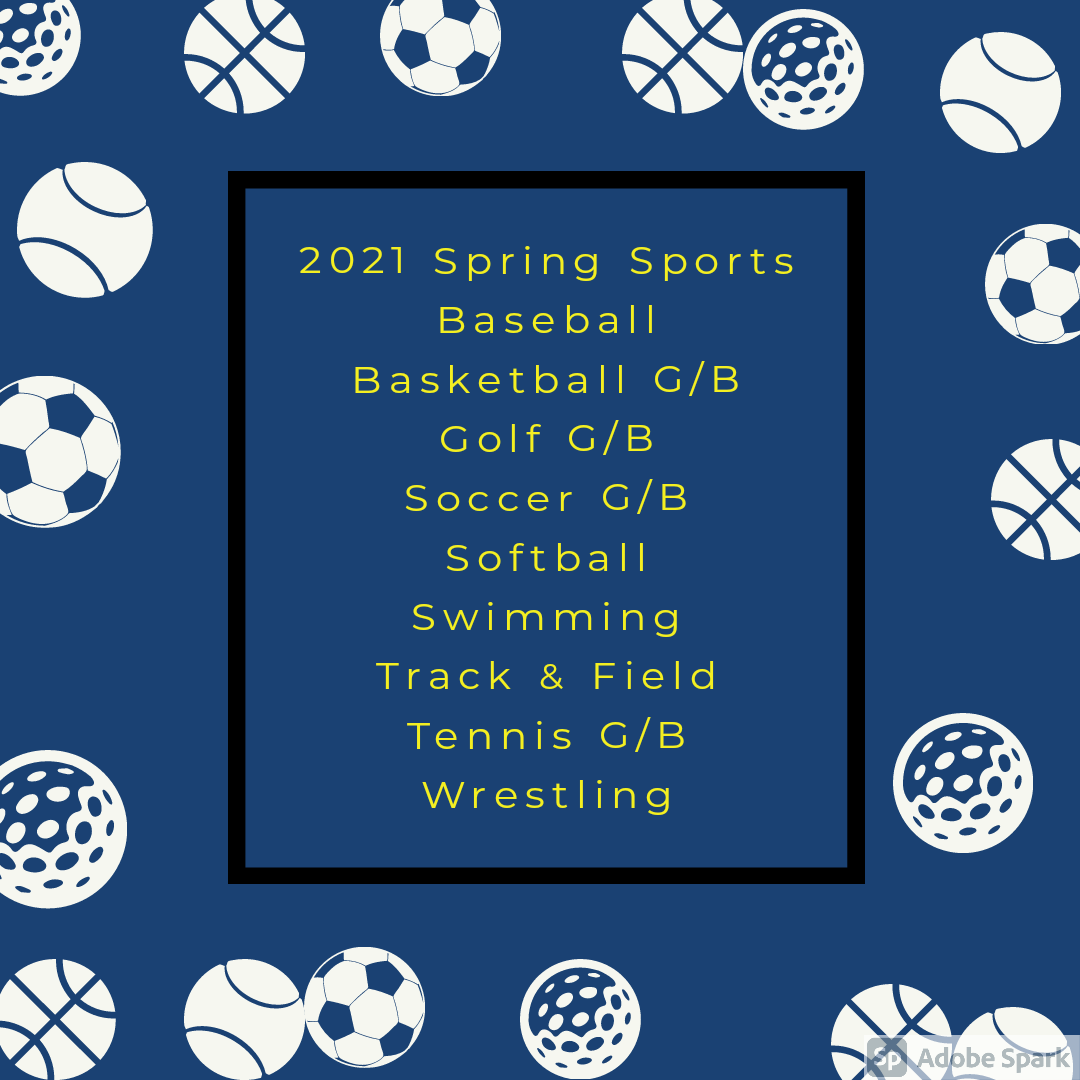 Sports Physical Clinic Info – 2021 Spring Sports Registration / Physicals