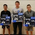 Atlee High School Boys Varsity Wrestling finishes 11th place