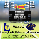 Friday Night Rivals:  Come Out To Sonic On Wed Evening