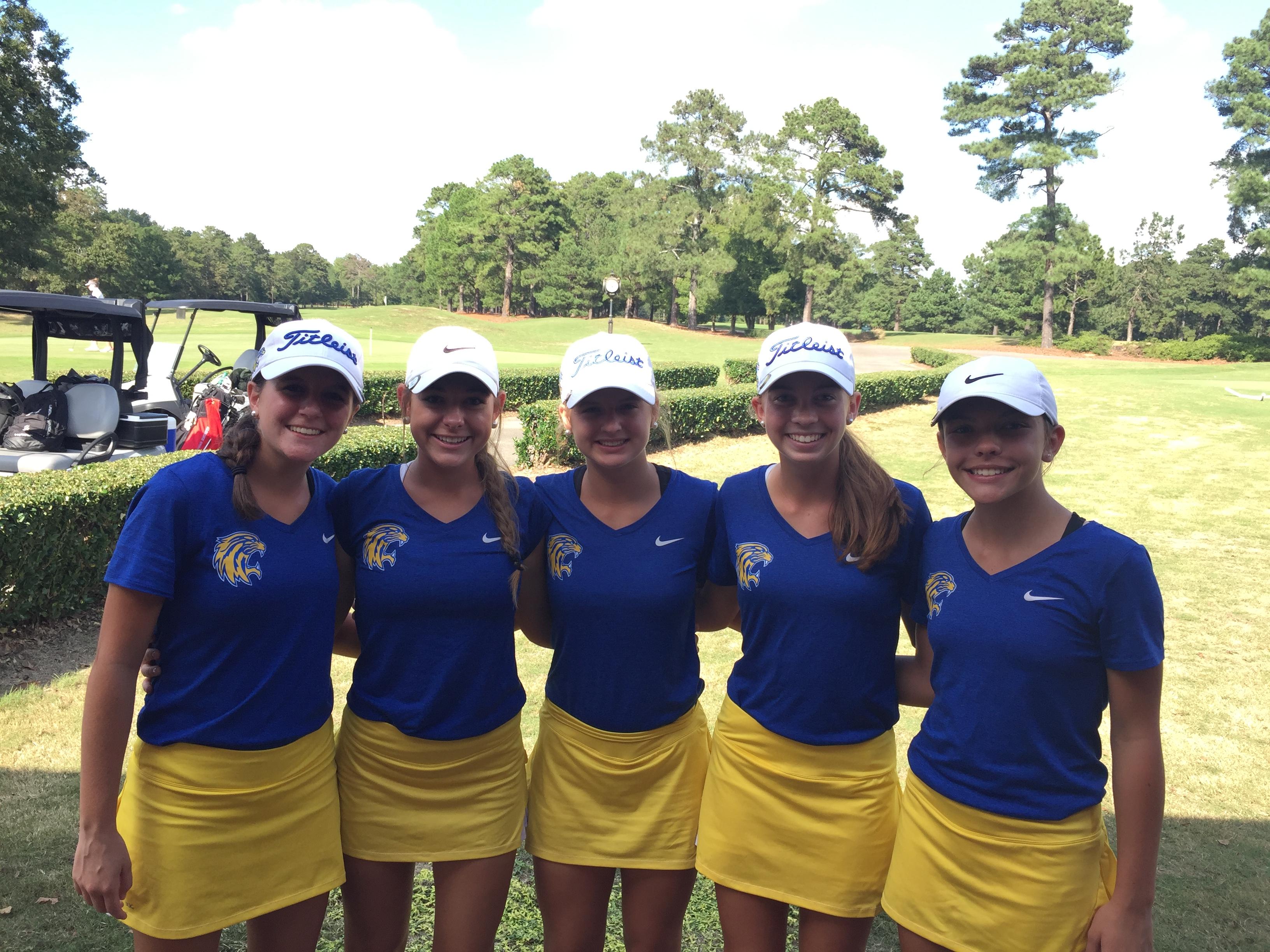 Lady Golfers Win 5A Lower State Championship!