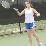 Jr. Varsity Girls' Tennis vs AC Flora