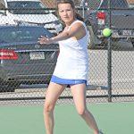 Lexington JV girls Tennis vs Dutch Fork