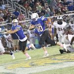 Wildcats Roar in Region Opener, 45-27