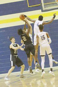 Lexington Varsity Boys Basketball vs BC