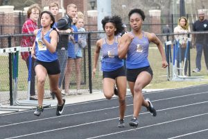 Lexington Varsity Boys and Girls Track vs Columbia High, Part 1