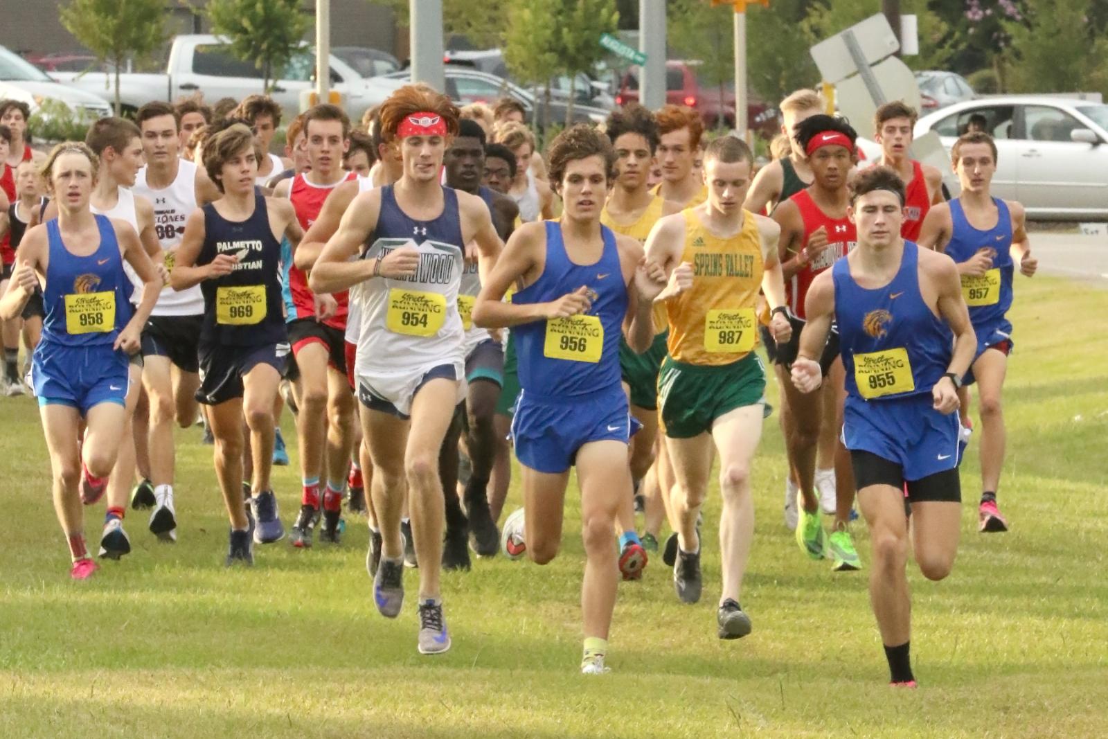 Lexington Boys Varsity Cross Country Pelicans Invite Part 1