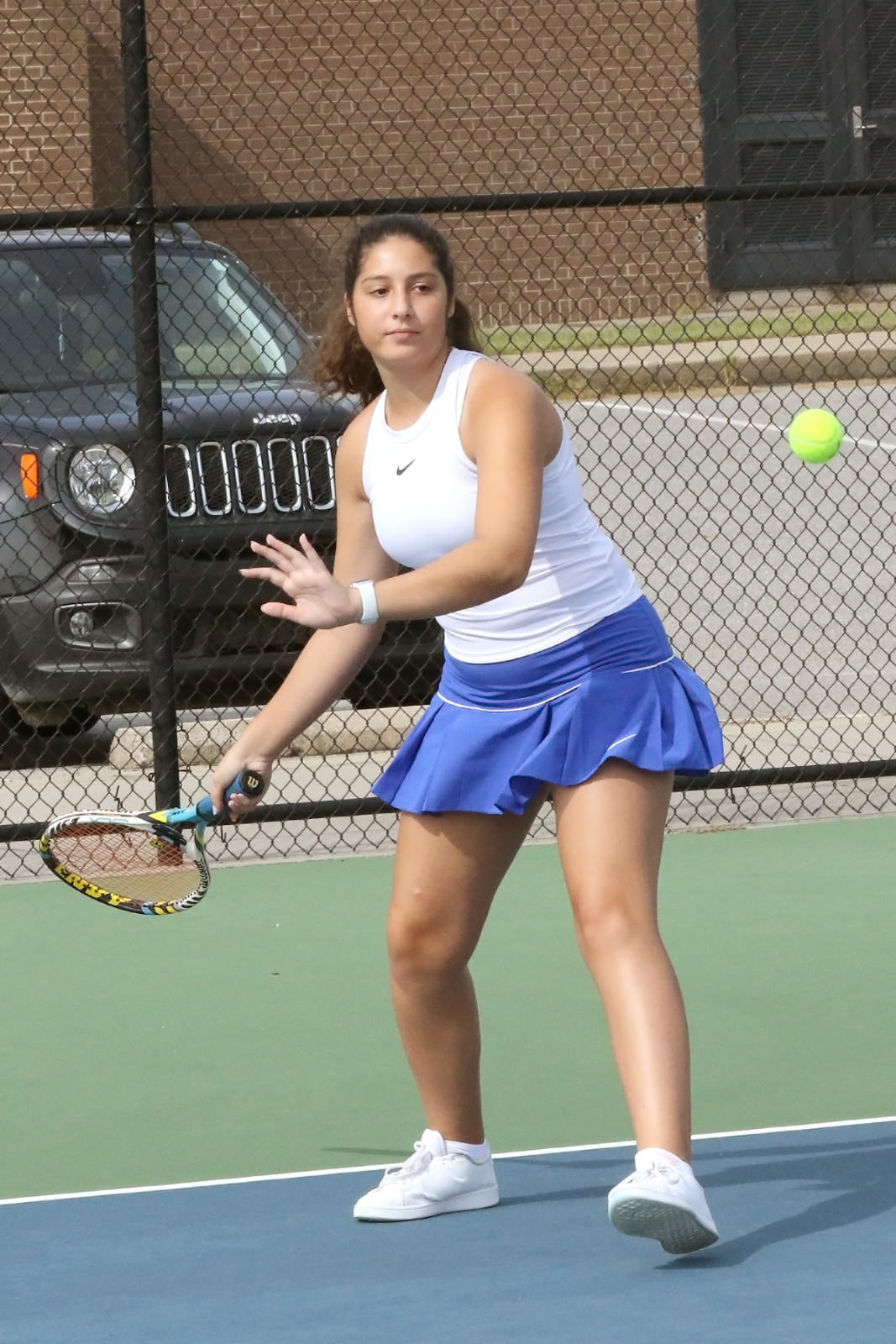 Lexington Jr Varsity Girls Tennis vs Chapin