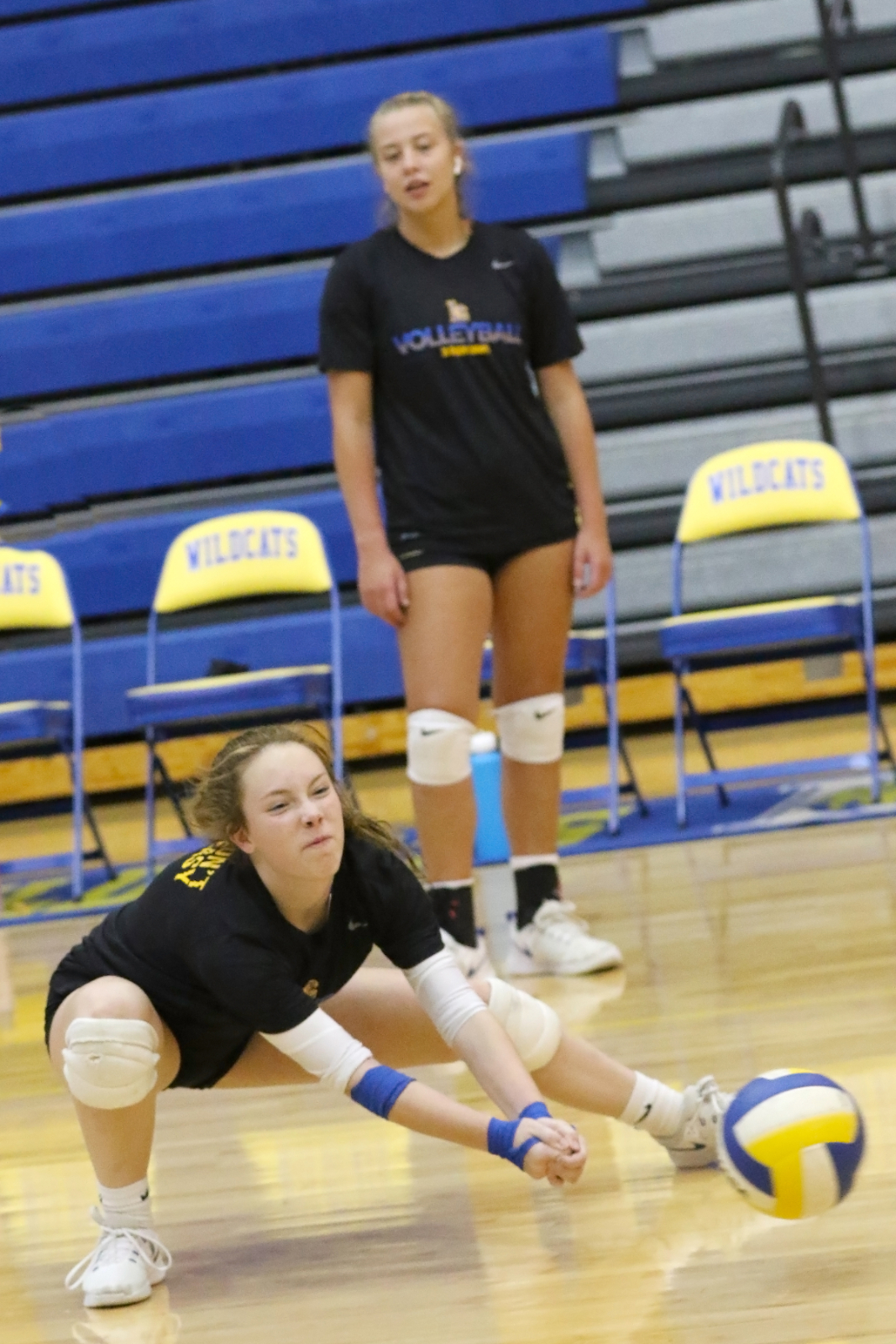 Lexington Varsity Girls Volleyball vs TL Hanna and Nations Ford