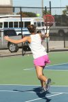 Lexington Varsity Girls Tennis vs AC Flora, Cancer Awareness