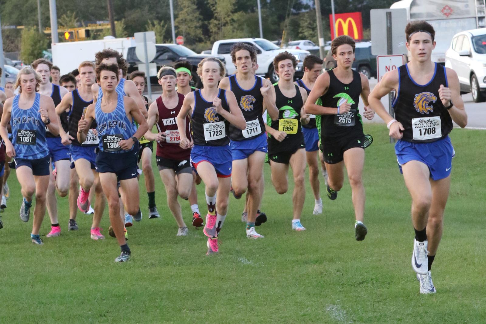 Lexington Varsity Boys Cross Country, Region