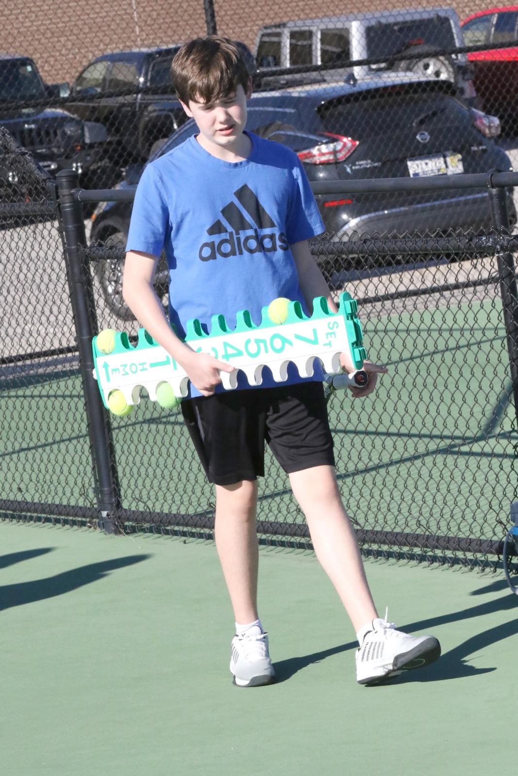 Lexington Jr Varsity Boys Tennis vs Gilbert