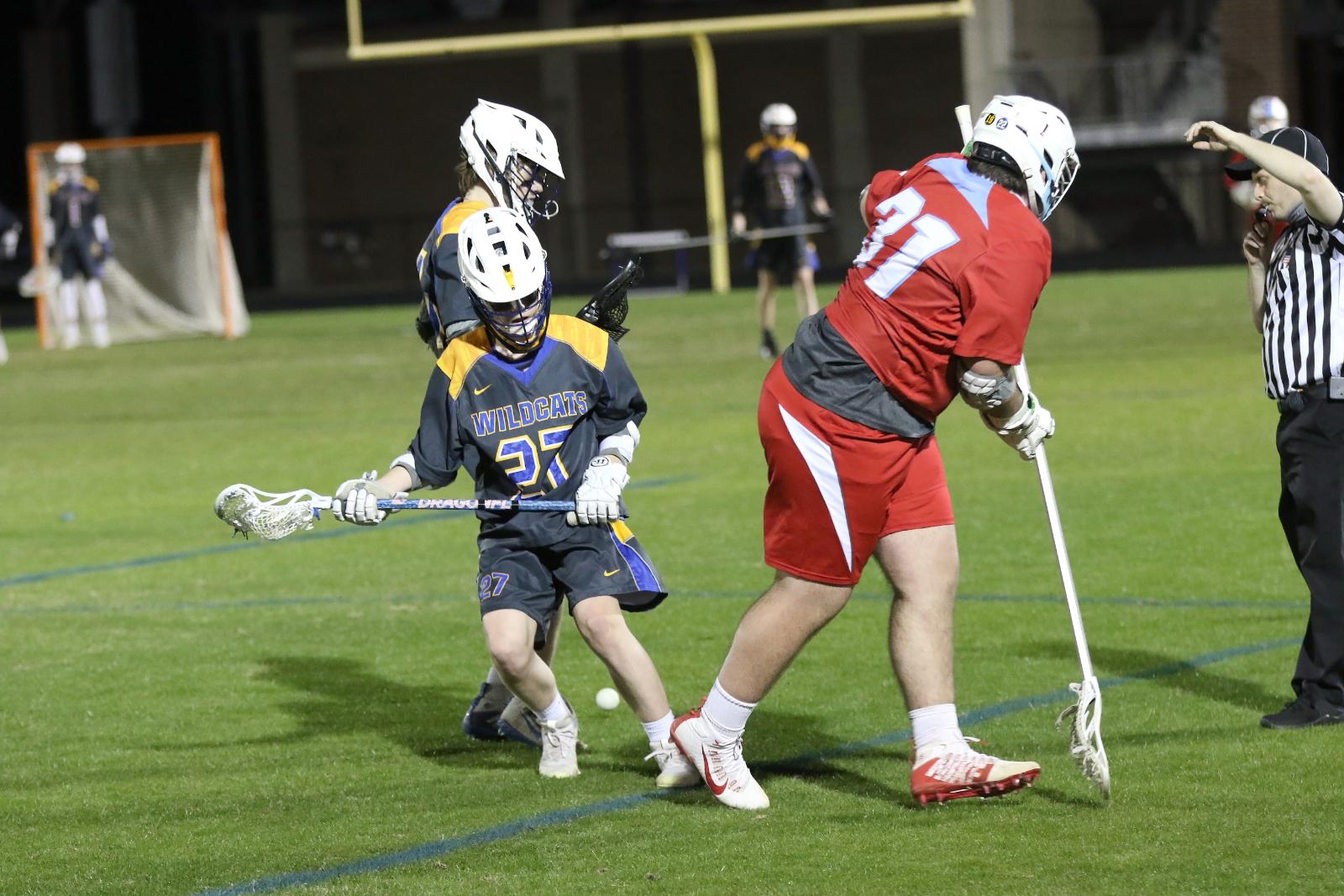 Lexington Jr Varsity Boys Lacrosse vs AC Flora