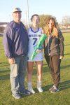 Lexington Varsity Girls Lacrosse vs Lakeside, Sr Recognition