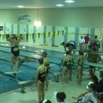 Bryan High School Girls Varsity Swimming falls to Northwest High School 87-53
