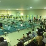 Bryan High School Boys Varsity Swimming falls to Northwest High School 78-53