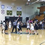 Bryan High School Girls Varsity Basketball falls to Burke High School 45-32
