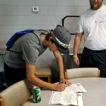 Dropinski signs letter of Intent to play baseball