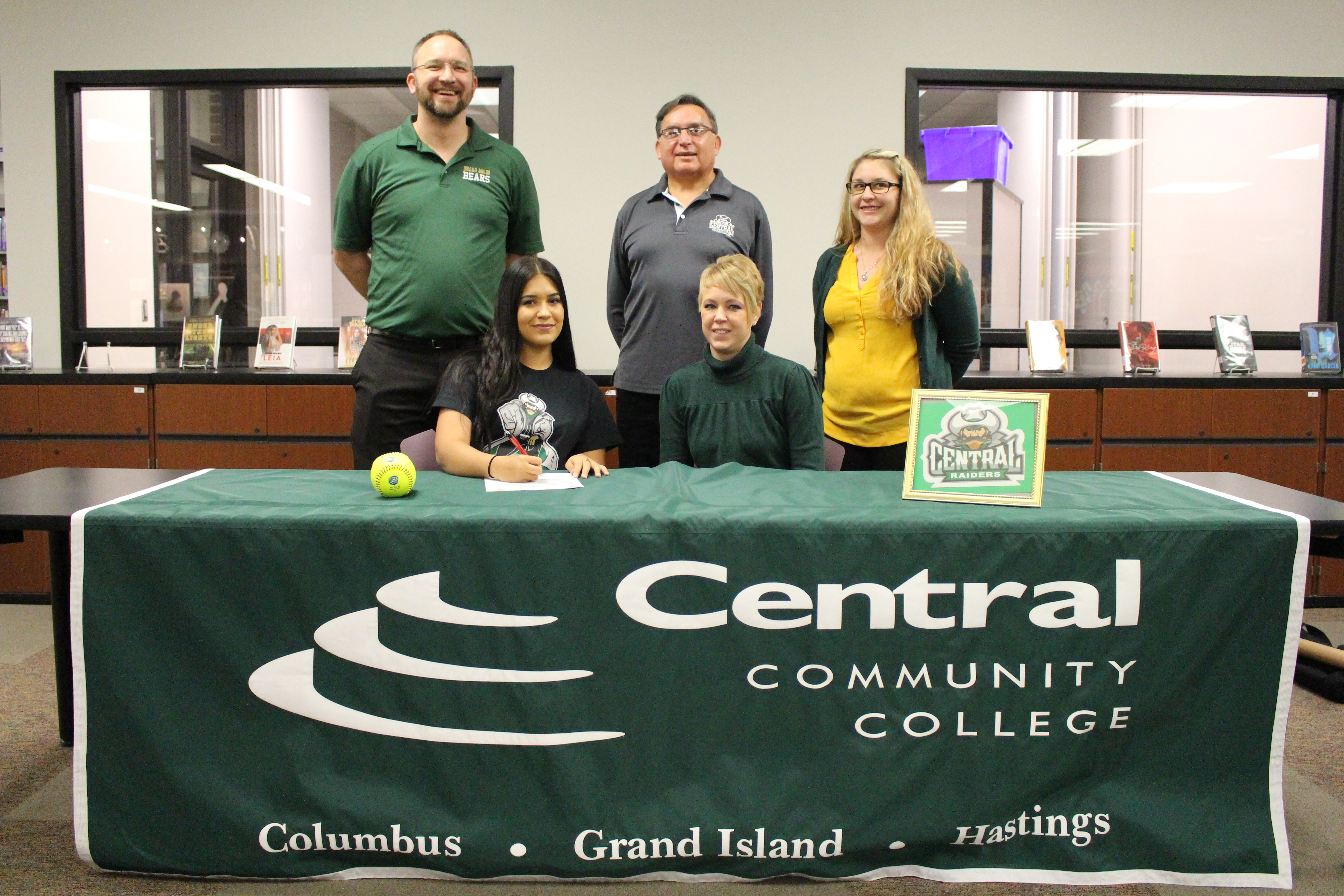 Bryan Softball Player Signs to Play at Central Community College