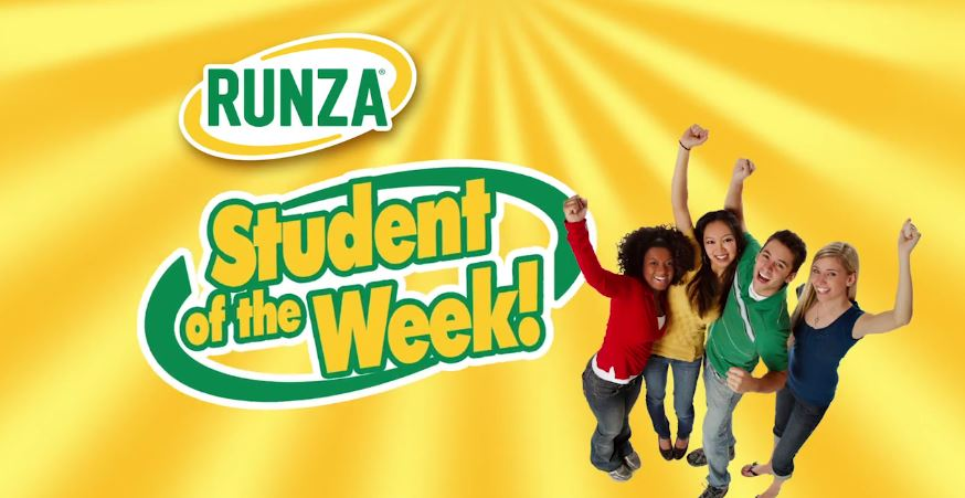 Runza Student of the Week