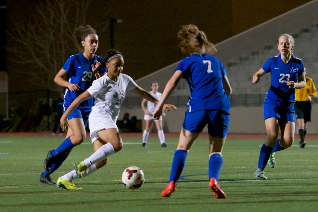Grady Soccer Sweeps Pace and Paideia