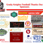 Grady Knights Football would like to Thank our Sponsors