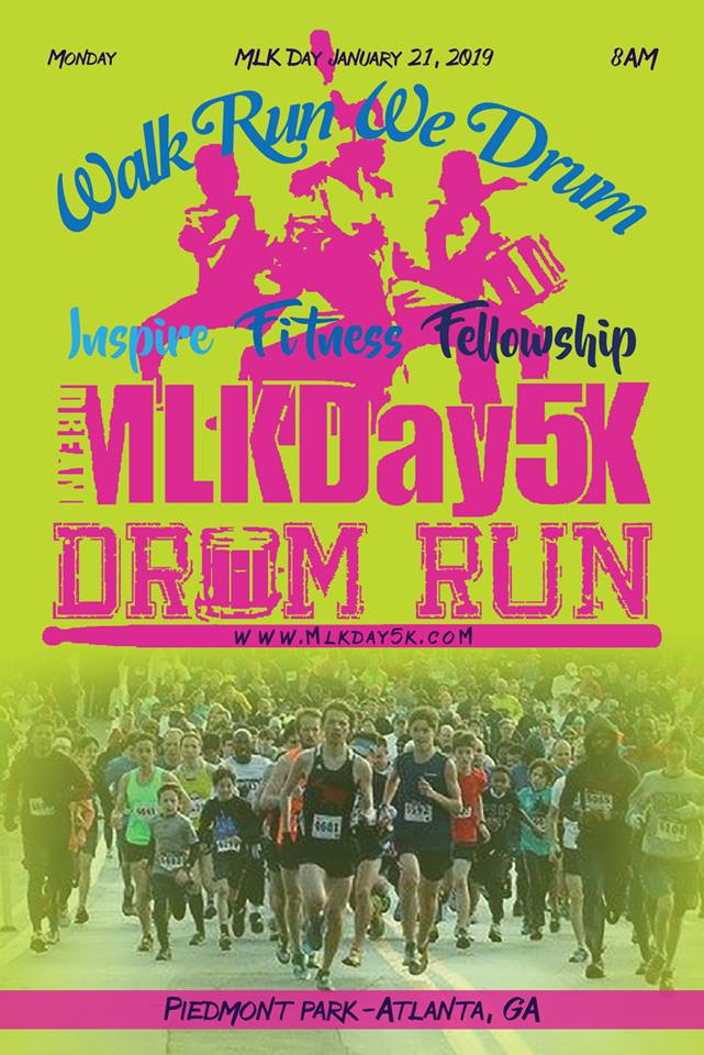 Join Team Grady High School at the MLK Day 5K!