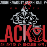 Grady Knights Basketball Black-Out