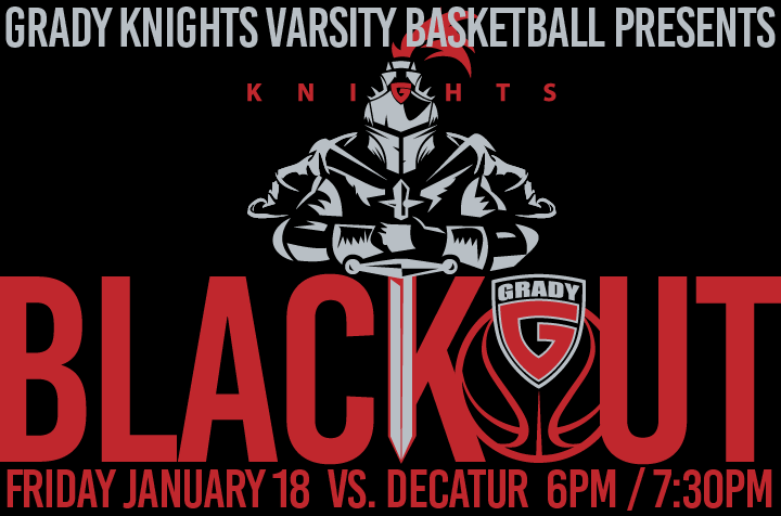 Black-Out For Basketball v Decatur Tonight