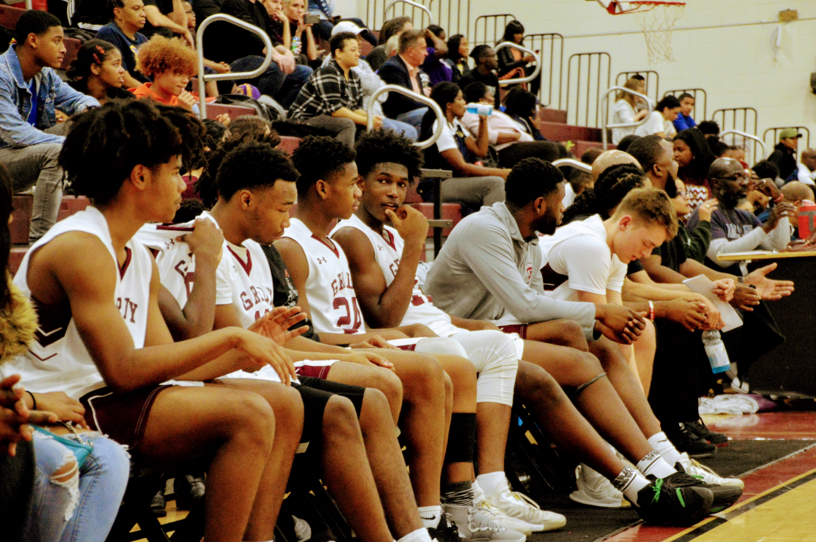 Varsity Boys Basketball Pulls Off Big Win Vs. Decatur